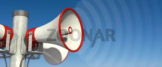 Beschallung durch Lautsprecher