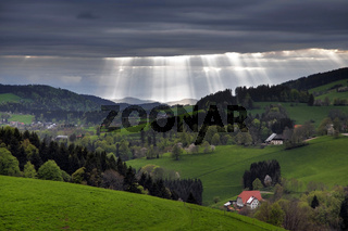 Landschaft im Frühling bei St.Peter im Schwarzwald