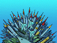 missiles weapons, arms race, militarism