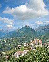 Schenna,Suedtirol,Trentino,Italien