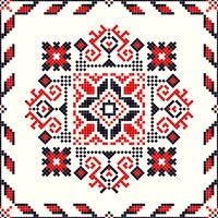 Romanian traditional pattern