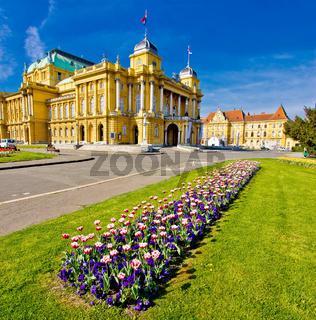 Marshal Tito square in Zagreb