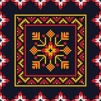 Romanian traditional pattern 207
