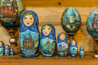 Russian toys Matrioshka