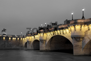 Pont Neuf, Paris, Ile de France, France