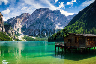 Pragser Wildsee, Lago di Braies