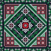 Romanian traditional pattern 206