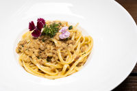 Spaghetti Cabonara pasta