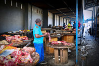 Fleischmarkt in Windhoek, Namibia | Meat market in Windhoek, Namibia