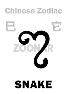 Astrology: SNAKE (sign of Chinese Zodiac)