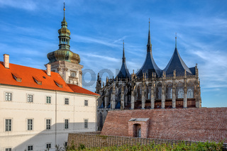 Saint Barbara's Cathedral, Kutna Hora, Czech Republic