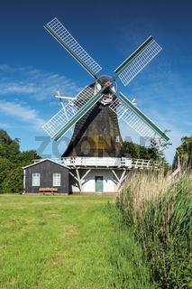 Seriemer Mühle in Ostfriesland, Deutschland