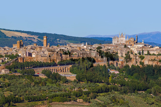 Orvieto medieval town in Italy