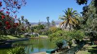 Parklandschaft in Funchal, Madeira