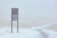 Australian Summer Snow Storm at Mt Buller