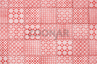 red tiles texture background