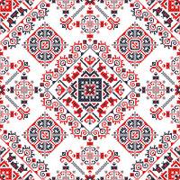 Romanian traditional pattern 181