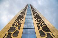 Golden Dubai Frame, New attraction in Dubai, United Arab Emirates