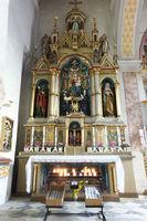 Innenausstattung der Pfarrkirche St. Leonhard