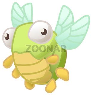 Odd Bug Small Cartoon