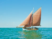 Old sailing boat
