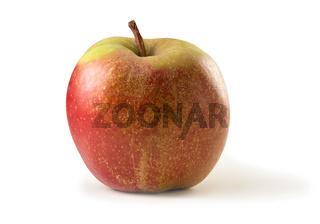 Boskop-Apfel freigestellt