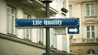 Street Sign Life Quality