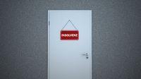 Door Sign Insolvenz