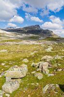 Panoramic view Aurland, Sogn og Fjordane, Norway