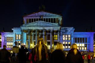 Berlin Festival of Lights,Gendarmenmarkt