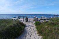 Strandzugang, Weißenhäuser Strand