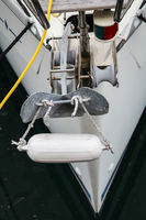Details einer Yacht