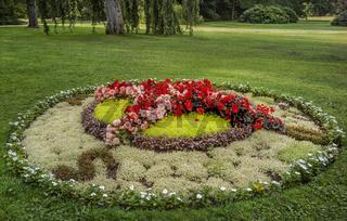 Greizer Park - Blumenrabatte