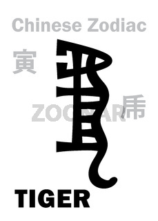 Astrology: TIGER (sign of Chinese Zodiac)