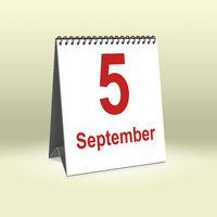 September 5th | 5.September