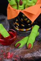 Witch's Finger Cookies