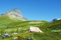 Tent in Jotunheimen