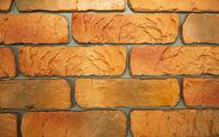 Brick wall pattern background closeup