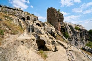 Überreste der Festung Regenstein
