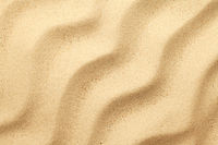 Sand Background With Waves