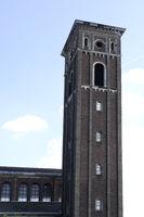 Kirchturm der evangelischen Trinitatiskirche