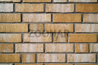 Fassade aus Ziegelsteinen
