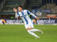 deutscher Fussballer Maximilian Franzke  1.FC Magdeburg DFB 3.Liga Saison 2020-21