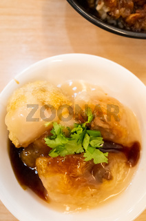 Taiwanese meatballs