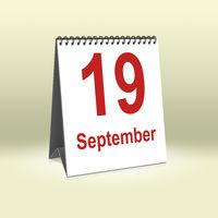 September 19th | 19.September