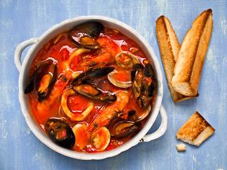 rustic italian seafood soup