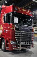Scania Anniversary Truck onTransport-Logistics 2019, Helsinki, Finland
