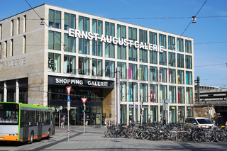 Ernst August Galerie shopping center or mall in Hannover Germany