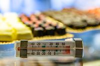 the patisserie refrigerator thermometer.