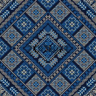 Palestinian embroidery pattern 311